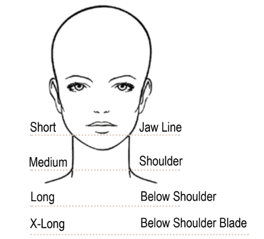 Hair Length Guidelines
